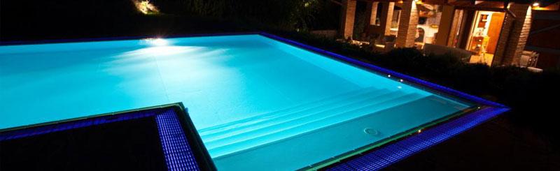 Sistemi illuminazione piscine modelli di illuminazione di - Illuminazione piscina ...